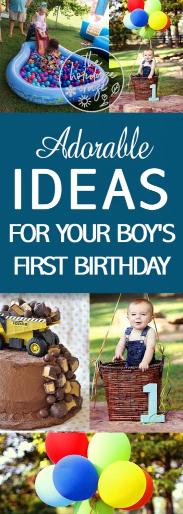 adorable ideas for your boy s first birthday