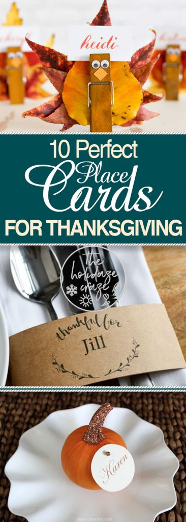Place Cards for Thanksgiving, Thanksgiving Tablescape, Thanksgiving Place Cards, DIY Place Cards for Thanksgiving, DIY Thanksgiving Decor, Crafts for Thanksgiving, Place Cards for Thanksgiving Parties