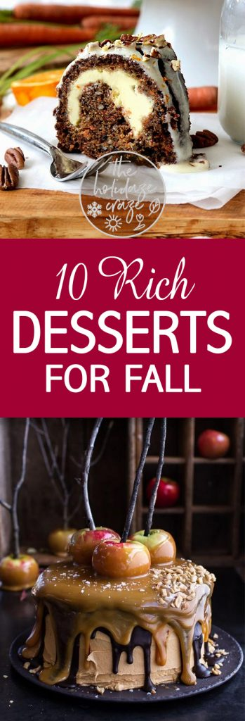 Rich Desserts, Fall Dessert Recipes, Fall Recipes, Dessert Recipes for Fall, Thanksgiving Recipes, Easy Dessert Recipes for Fall, Delicious Fall Desserts, DIY Fall, Yummy Desserts for Fall, Popular Pin