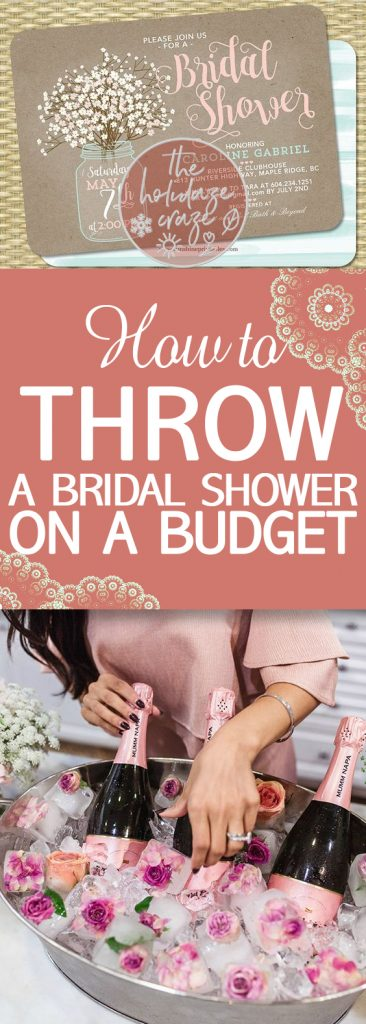 How to Throw a Bridal Shower On a Budget | Bridal Shower Tips and Tricks, How to Throw a Bridal Shower, Bridal Shower on A Budget, How to Throw a Bridal Shower on a Budget, Budget Party Ideas