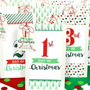 12 Days of Christmas Parties | Christmas Parties, DIY Christmas Parties, Christmas Party Ideas, DIY Christmas Party, Holiday Party, Holiday Party Hacks