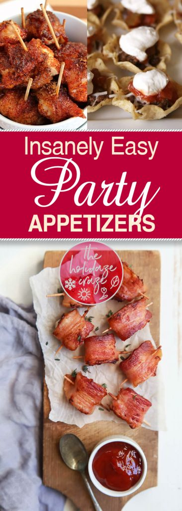 Insanely Easy Party Appetizers| Easy to Make Party Appetizers, Party Appetizers, Delicious Party Appetizers, Handmade Party Appetizers, Party Recipes, Delicious Recipes for Parties, Popular Pin