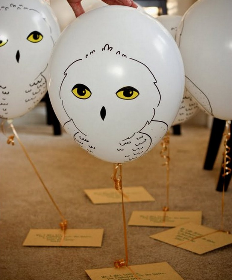 Magical ideas for a harry potter party
