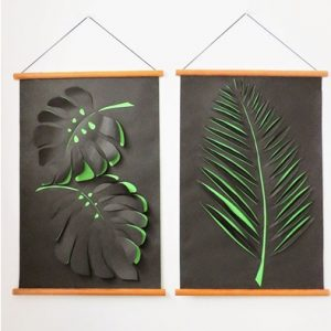 Paper Leaf Projects for Fall Home Decor| Fall Home Decor, Paper Leaf Projects, Fall Home, Holiday Home Decor, DIY Fall, Crafts, Fall Crafts, Fall Crafts for the Home