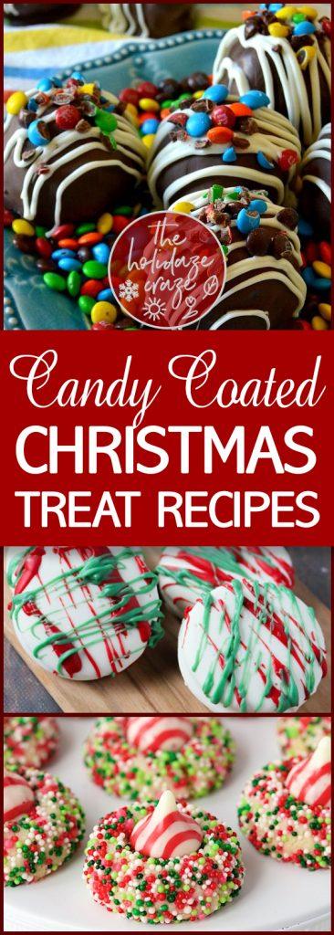 Candy Coated Christmas Treat Recipes| Christmas, Christmas Recipes, Holiday Recipes, Treat Recipes, Holiday Treat Recipes #Recipes #HolidayRecipes #Christmas