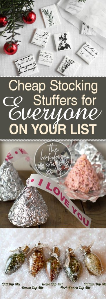 Cheap Stocking Stuffers for EVERYONE On Your List| Stocking Stuffers, DIY Stocking Stuffers, Gift Ideas, Christmas Gifts, Christmas Gift Ideas, DIY Stocking Stuffers, Cheap Stocking Stuffers, Cheap Christmas Gifts, Inexpensive Christmas Gifts