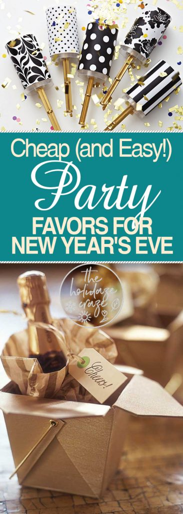 New Year's Eve | New Year's Eve Party | Party Favors | DIY Party Favors | New Year's Eve on a Budget | How to Throw a New Year's Eve Bash