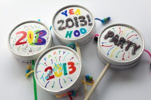 DIY Party Noisemakers   Party Noisemakers for New Year's Eve   DIY Pary Noisemakers for your New Year's Eve party   New Year's Eve   Ring in the New Year