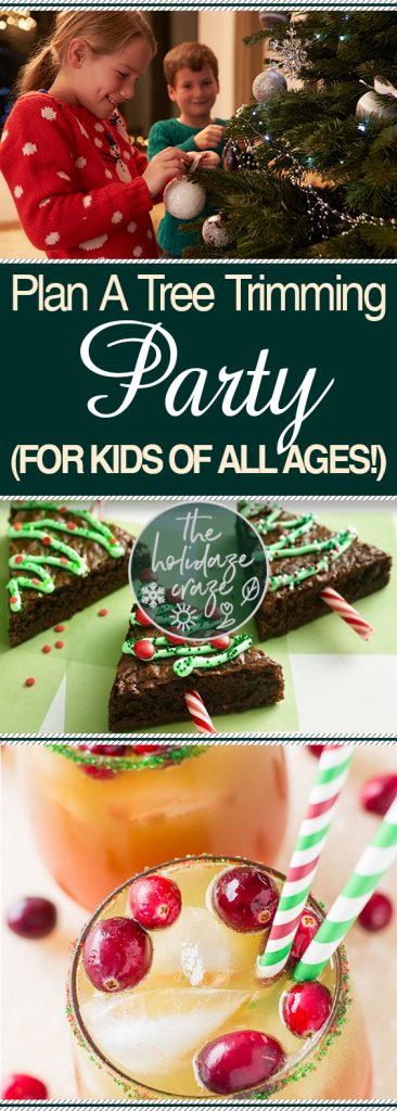 Plan A Tree Trimming Party (For Kids of All Ages!)| Holiday Party, Holiday Party Ideas, Party Ideas, Christmas Party, Christmas Party for Kids, Kid Stuff, Holiday Home #Holiday #Christmas #ChristmasParty