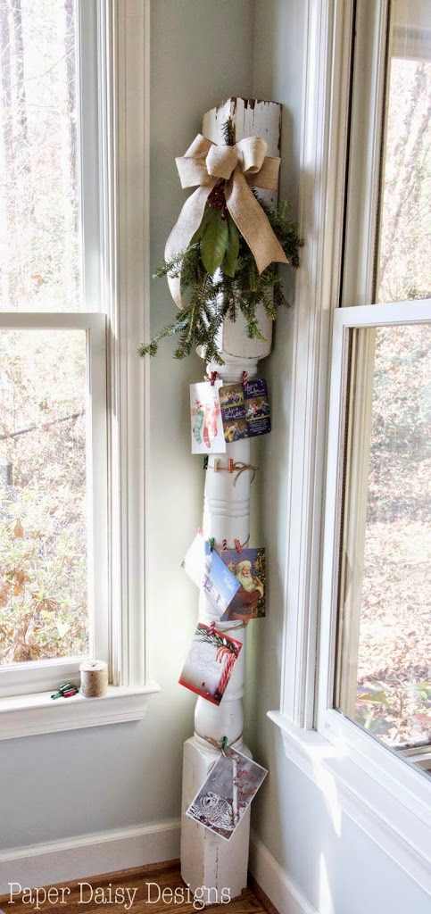 10 Ways to Display Your Cards This Season -