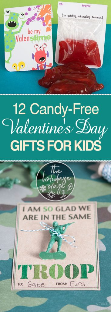 12 Candy-Free Valentine's Day Gifts for Kids| Gifts for Kids, Valentines Day Gifts for Kids, DIY Gifts, DIY Valentines Day Gifts, Kid Stuff, Holiday Gifts for Kids, Popular Pin #ValentinesDay #Gifts #HolidayGifts #DIYValentinesDay