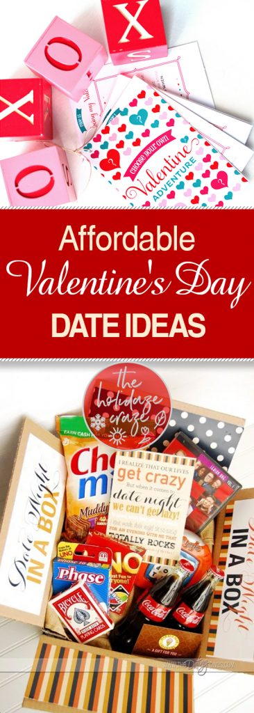 Affordable Valentine's Day Date Ideas| Valentines Day Dates, Valentines Day Date Ideas, DIY Dates, Valentines Day, Valentines Day Activities, Cheap Date Ideas, Inexpensive Dates #Valentines #ValentinesDayDates #ValentinesDay