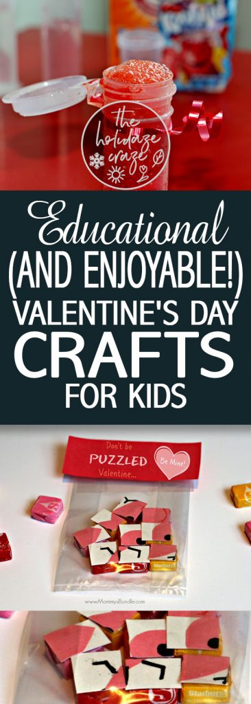 Educational (and Enjoyable!) Valentine's Day Crafts for Kids| Valentines Day, Valentines Day Crafts for Kids, Kid Stuff, Holiday Crafts for Kids ,Kid Crafts, Holiday Craft Ideas, Craft Ideas for Kids #ValentinesDay #ValentinesDayCrafts #ValentinesDayKidStuff