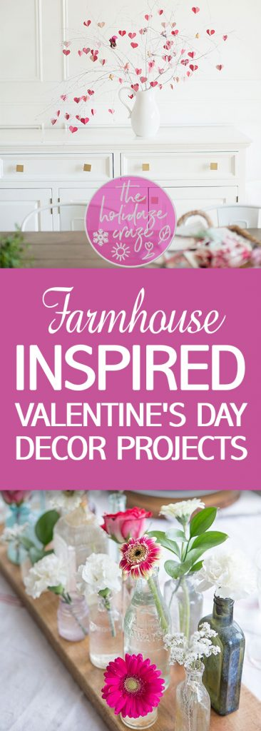 """Farmhouse"" Inspired Valentine's Day Decor Projects