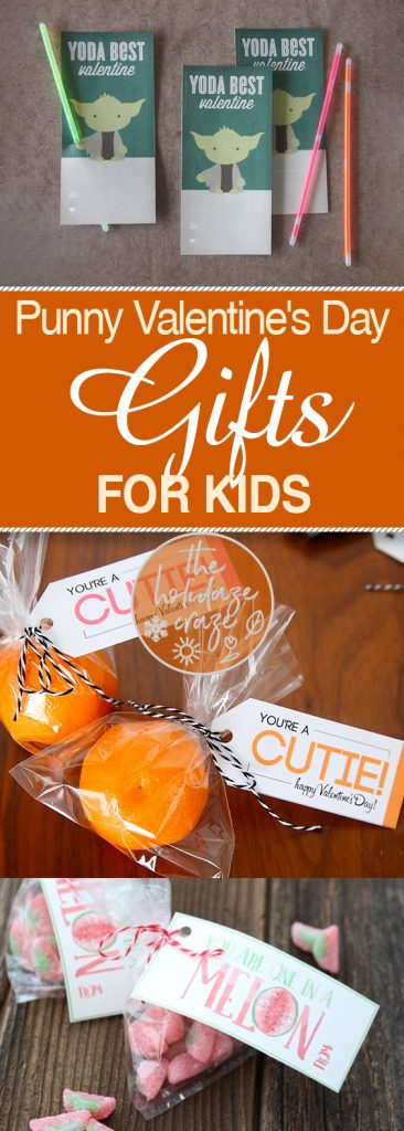 """Punny"" Valentine's Day Gifts for Kids