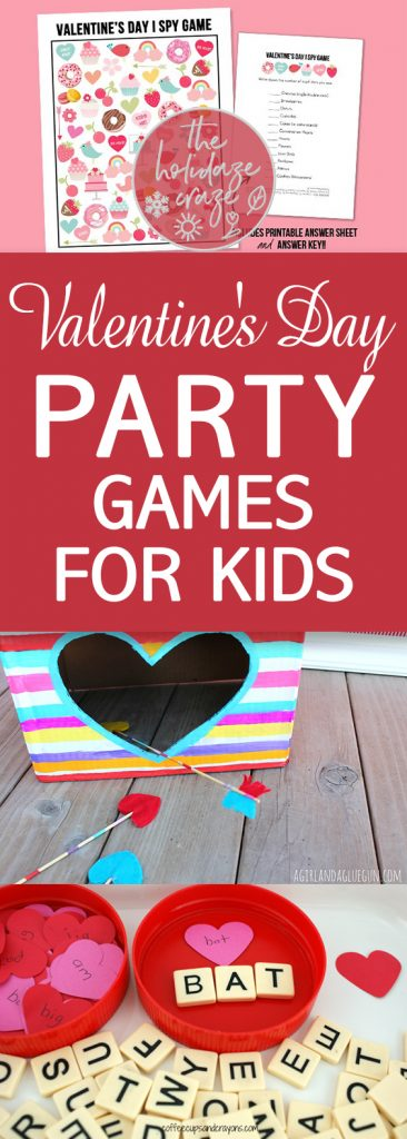 Valentineu0027s Day Party Games For Kids| Valentines Day Party Games, Games For  Kids,