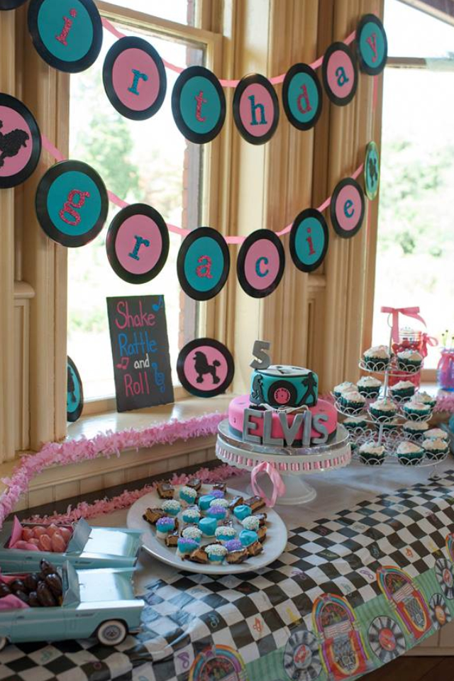 1950s | 1950s Party Ideas | Party Ideas | DIY 1950s Party Ideas | How to Throw a 1950s Party