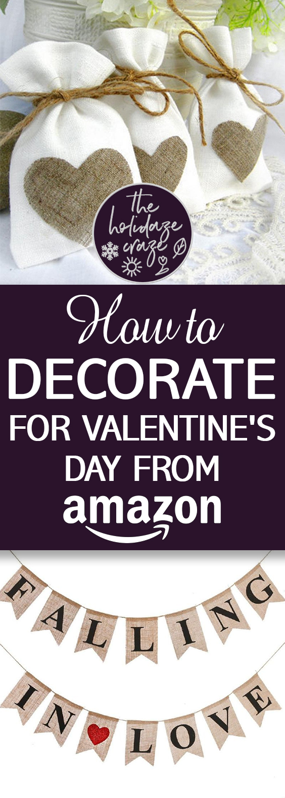How to Decorate for Valentine's Day from Amazon| Valentines Day, Valentines Day Decor, Valentines Day Amazon Decor, Amazon Decor, DIY Amazon, Amazon Home Decor, Valentines Day, Party Ideas #PartyIdeas #ValentinesDayParty