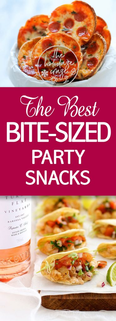 The Best Bite-Sized Party Snacks| Party Snacks, Bite Sized Party Snacks, Easy Party Snacks, Party Recipes, Party Recipe Ideas, Recipe Ideas, Party, Party Snacks, DIY Party Snacks