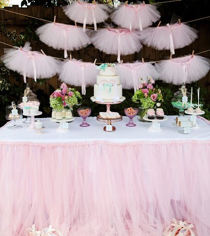 Stay On Your Toes With A Ballerina Party  Ballerina, Ballerina Birthday Party, Birthday Party, Birthday Party Ideas, Themed Birthday Party Ideas, Themed Party, Themed Birthday Party, DIY Themed Birthday Party, Ballerina Party #BirthdayParty #ThemedParty #PartyIdeas