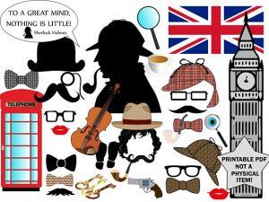 Sherlock Holmes Birthday Ideas Worth Investigating| Party Ideas, Birthday Party Ideas, Birthday Party IDeas for Teens, Birthday Party Ideas for Kids #PartyIdeas #BirthdayPartyIdeas