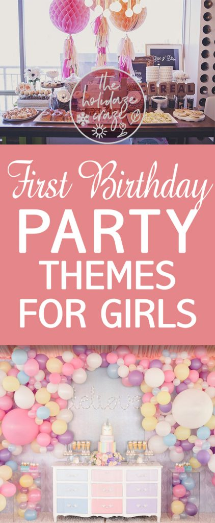First Birthday Party Themes for Girls| Kid Stuff, First Birthday, First Birthday Party, First Birthday Party Themes for Girls, Birthday Party Themes for Girls 1st, Party Themes, Party Themes for Girls