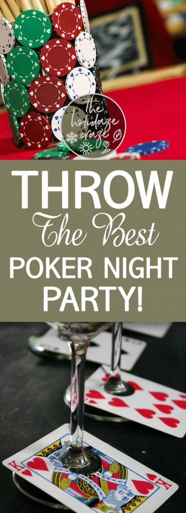How to throw a great poker party silvester casino salzburg
