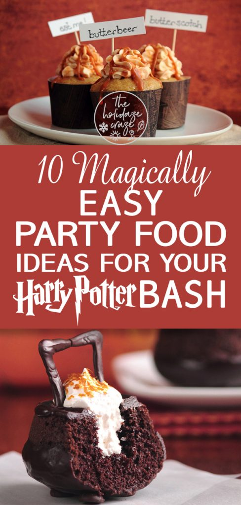 10 Magically Easy Party Food Ideas for Your Harry Potter Bash | Harry Potter Party Ideas, Harry Potter Party Food, Party Food Ideas, Party Planning, Party Food, Party Recipes, Party Recipes for a Crowd