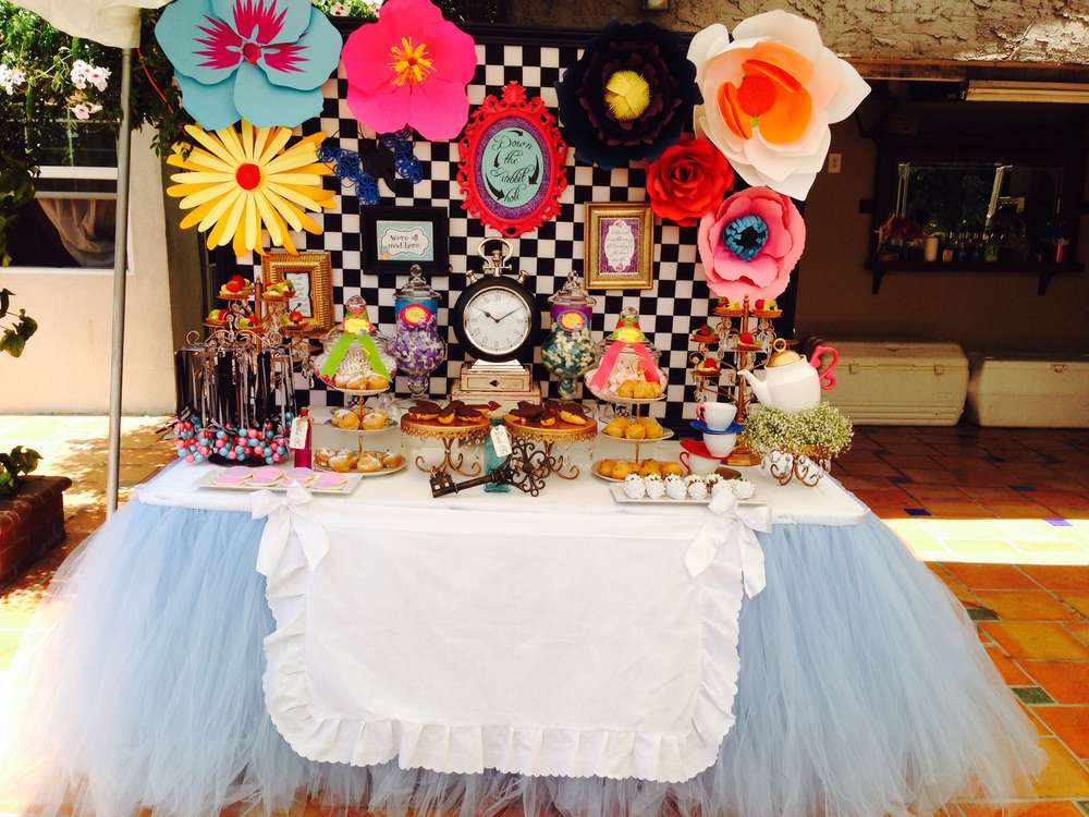 10 Mad Alice In Wonderland Party Ideas