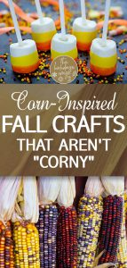 Corn-Inspired Crafts | DIY Corn Inspired Crafts | Fall Decor | DIY Fall Decor | Halloween | Halloween Decor | Fall Decorations | How to Make your own Fall Decorations