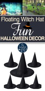 Floating Witch Hat Lights | Floating Witch Hat Decorations | Floating Witch Hat Halloween Decorations | Halloween Decorations | Witch Hat Decorations | DIY Floating Witch Hat Lights