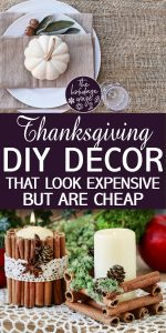 Thanksgiving DIY Decor | Thanksgiving Decor Ideas | Thanksgiving | Cheap Thanksgiving Decor Ideas | DIY Cheap Thanksgiving Decor Ideas | DIY Thanksgiving Decor
