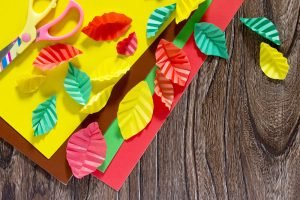 Fan Folded Leaves | Thanksgiving Fan Folded Leaves | Thanksgiving Crafts | DIY Thanksgiving Crafts | Thanksgiving Craft Ideas