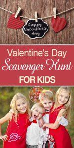 Valentine's Day | Valentine's Day Scavener Hunt | Scavenger Hunt | Scavenger Hunt for Kids | Valentine's Day for Kids | Valentine's Day Scavenger Hunt for Kids