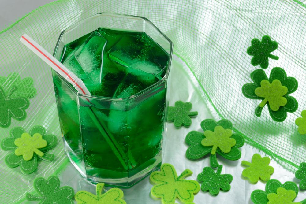 punch | green punch | st. patricks day | st. pattys day | leprechaun | luck | green