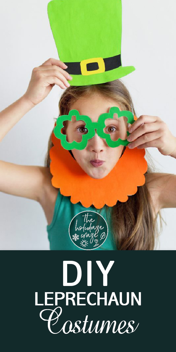 leprechaun | St. Patrick's Day | St. Patty's Day | green | clover | luck | irish | diy leprechaun | diy leprechaun costume