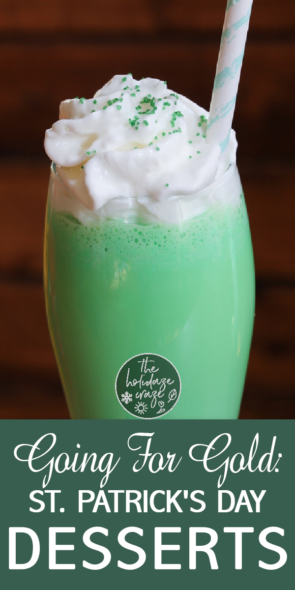 dessert   st. patrick's day   st. pattys day   green   green desserts   luck   gold   leprechaun