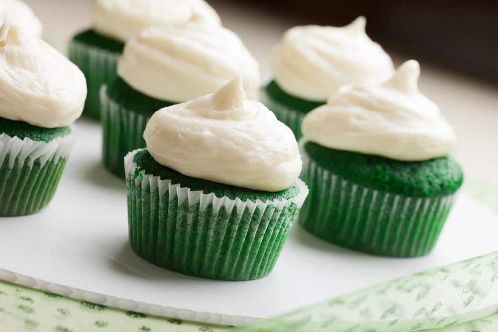 dessert | st. patrick's day | st. pattys day | green | green desserts | luck | gold | leprechaun