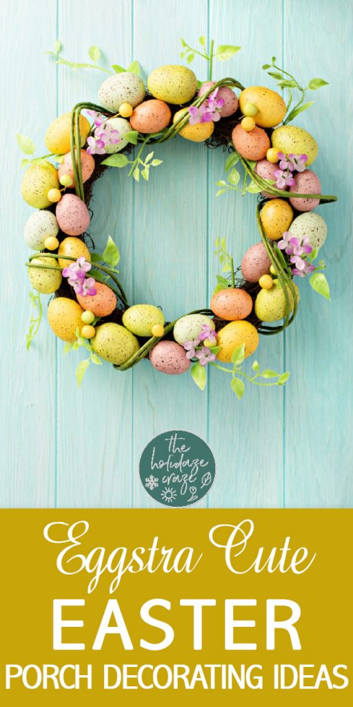 Easter porch | Easter porch decor | Easter porch decorations | Easter porch decoration ideas | Easter | Easter decor | porch | porch decor | porch decorations