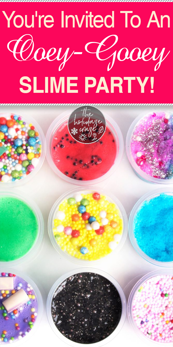slime | slime party | slime party ideas | party | party ideas | kids party | kids slime party | party theme