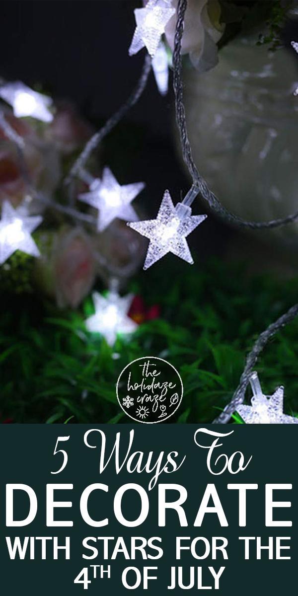 stars | stars and stripes | star decor | stars and stripes decor | fourth of july | fourth of july decor | holiday | holiday decor
