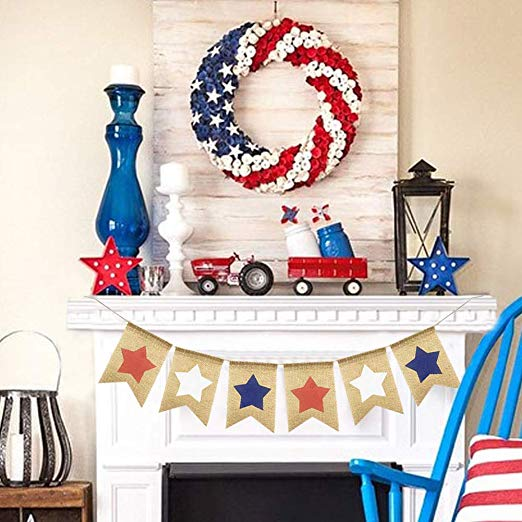 stars | stars and stripes | star decor | stars and stripes decor | fourth of july | fourth of july decor | holiday | holiday decor