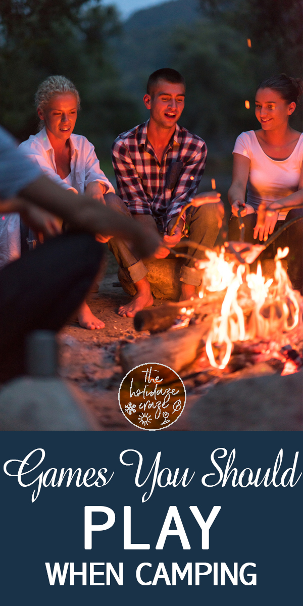 camping | games | camping games | games to play while camping | summer | outdoors | outdoor games