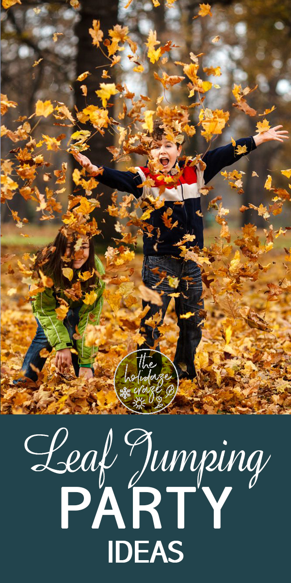 leaf jumping | fall | fall clean up | yard care | party ideas | fall party ideas