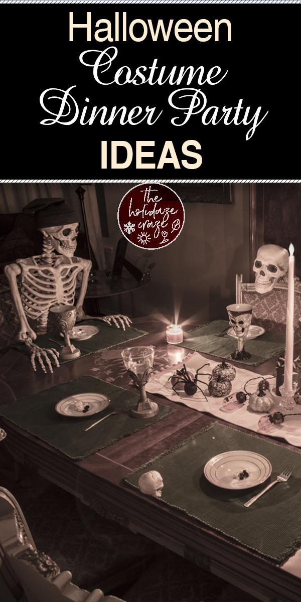 Halloween costume dinner party | Halloween | dinner party | Halloween dinner party | party ideas | costume