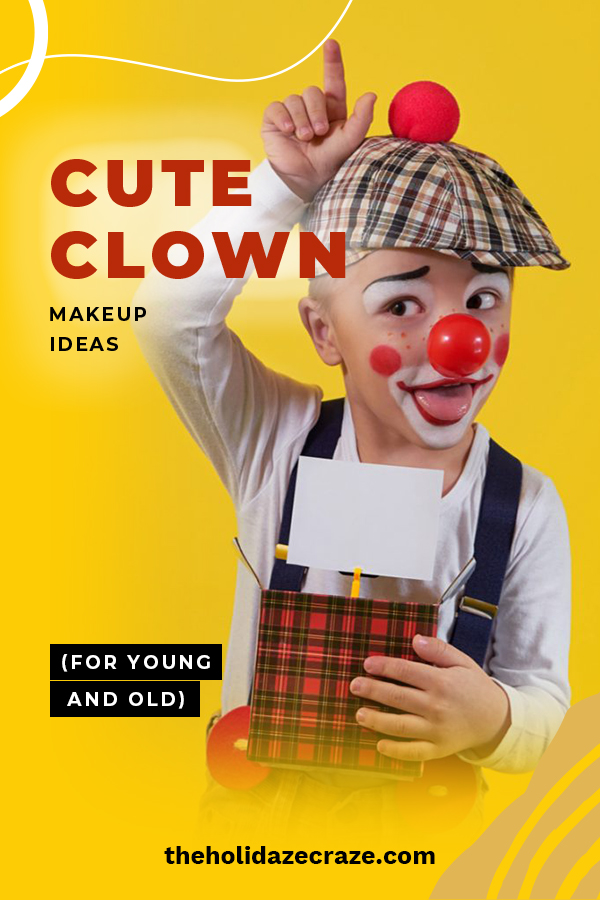 Cute clowns are better than the freaky ones that everyone is scared of. Learn tips and the latest trends for cute clown makeup for all ages, Women and kids. Discover the latest in cute clown makeup trends.