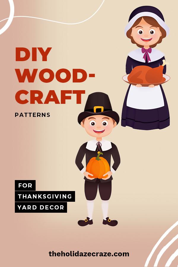 Diy Woodcraft Patterns For Thanksgiving Yard Decor