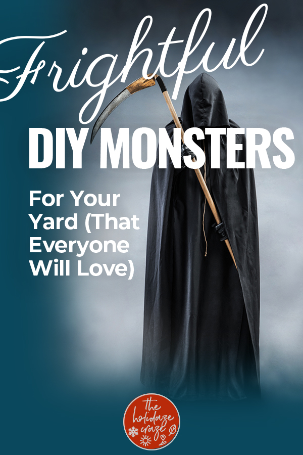 DIY monsters   monsters   Halloween   Halloween yard decor   Halloween decor   decor   Halloween DIY