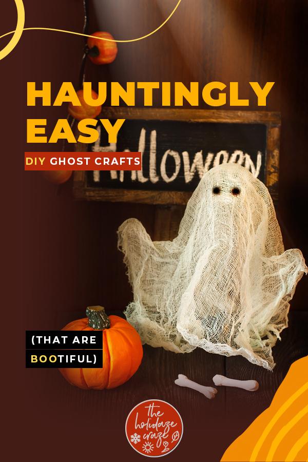 ghost crafts | Halloween | Halloween ghost crafts | Halloween crafts | crafts | DIY Halloween