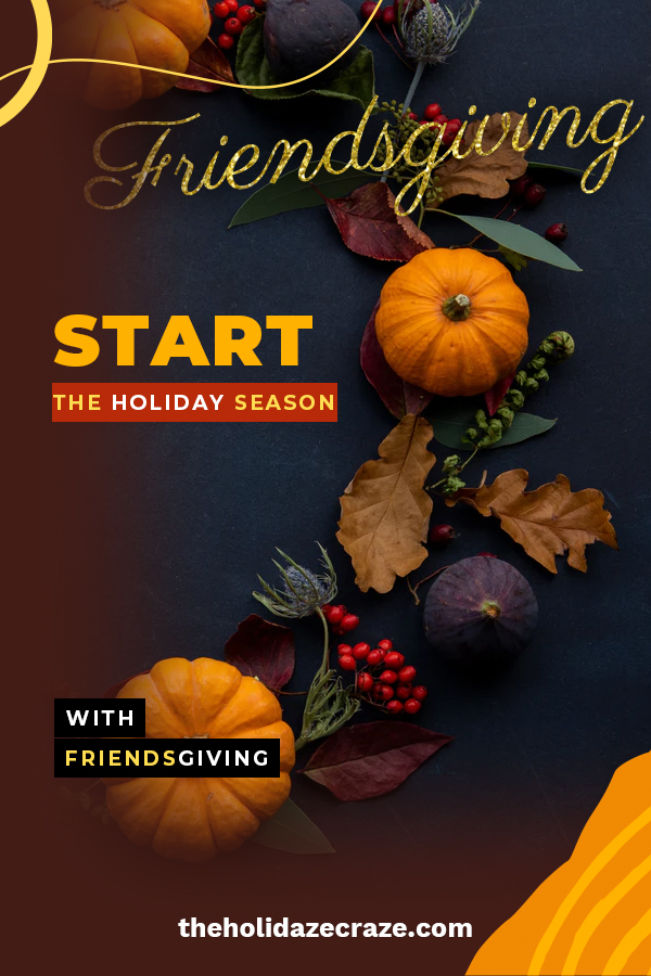 Show those amazing friends how much they mean to you with a Friendsgiving celebration. These ideas will help you with decorations and games. Start the holidays off by celebrating Friendsgiving with those friends who are like family.